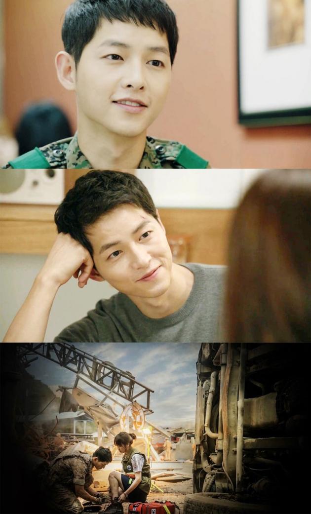 송중기 / 사진 = KBS2 '태양의 후예' 방송 캡처
