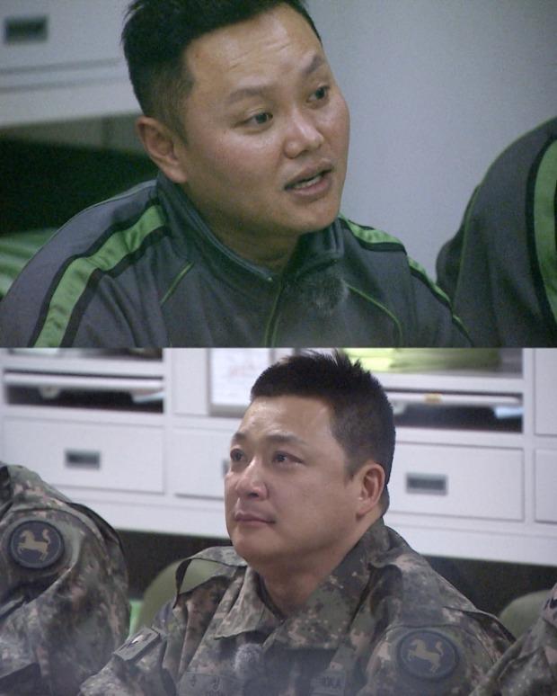 MBC '일밤-진짜사나이' 김민교 /사진='일밤-진짜사나이' 방송화면