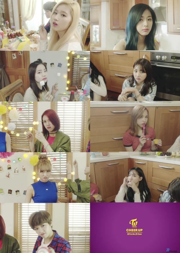 트와이스, 'CHEER UP' 뮤직비디오