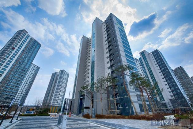 아산탕정 2공구 LH이안 아파트 (자료 대우산업개발)