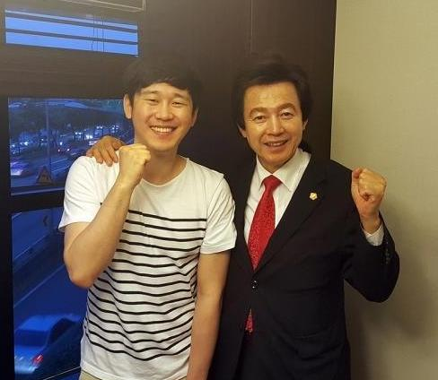 '3중 추돌 사고' 허경영, 브로 앨범에 피처링