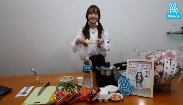 프로듀스101 김소희 라면먹방 /뮤직웍스