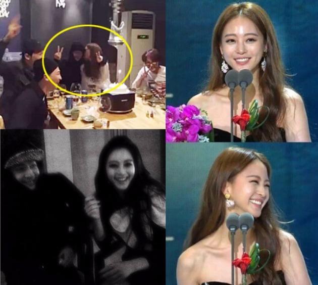 한예슬 인스타그램·SBS 방송 캡처