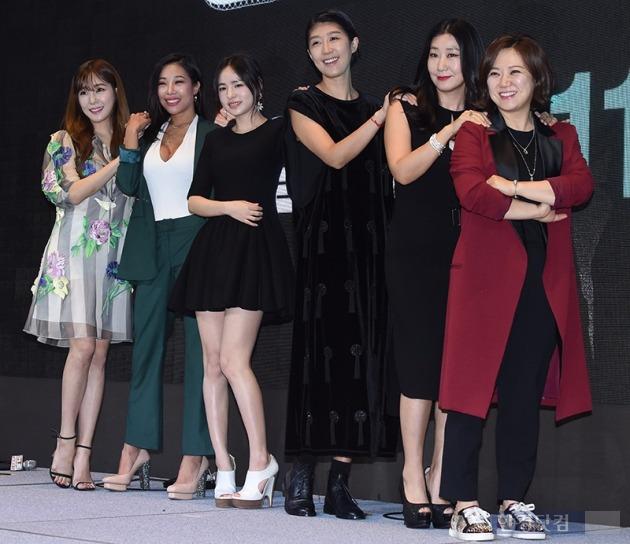 '언니들의 슬램덩크' 제작발표회 / 사진 = 변성현 기자