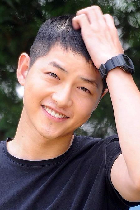 송중기, 제주항공 모델 낙점 /한경DB