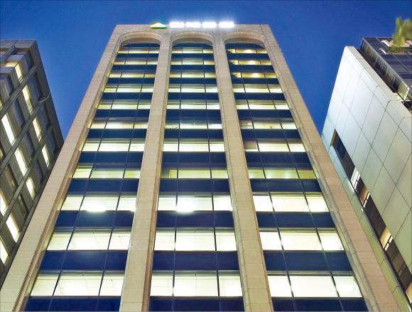 현대증권 본사 건물. 현대증권 제공