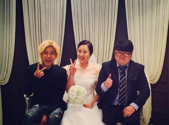 강남 '나혼자산다' 친구 결혼식 참석/ 사진출처:강남 인스타그램