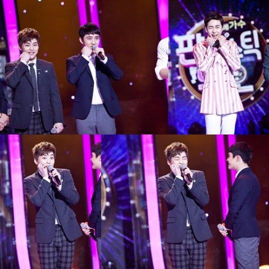 SBS '일요일이 좋다-판타스틱 듀오' 엑소(EXO) 조성모 따라잡기 /사진=SBS '일요일이 좋다-판타스틱 듀오' 방송화면