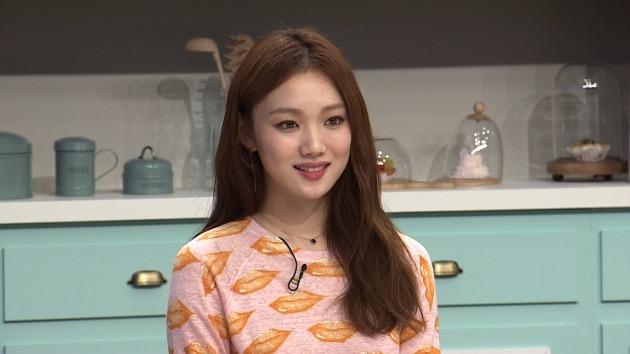 '냉장고를 부탁해' 이성경 출연 모습.