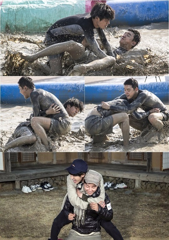 '1박2일' 윤시윤-정준영 /사진=KBS 2TV '1박 2일' 공식 페이스북