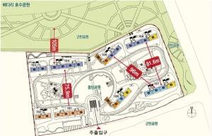 [평택 비전 지웰 푸르지오③구성]넓은 중앙광장, 동간 거리 확보로 개방감 'UP'