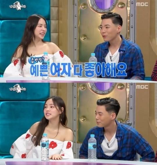 민효린과 지소울. '라디오스타' 캡처