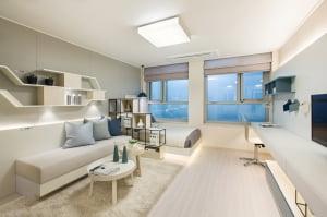 [e편한세상 시티 미사④평면]침실·거실 분리형 설계, 일부 가구 알파룸 도입