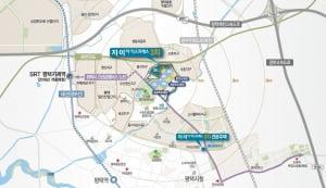 [자이 더 익스프레스 3차②입지]SRT 지제역 가까워 서울·수도권 접근성 우수