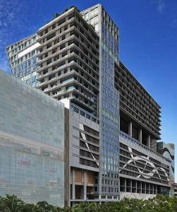싱가포르 건설대상에서 우수건설 현장으로 선정된 현대건설의 스페셜리스트 센터 전경.