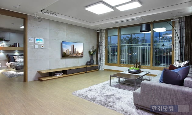 '동탄2신도시 반도유보라 아이비파크10.0'의 전용 84㎡형 내부.