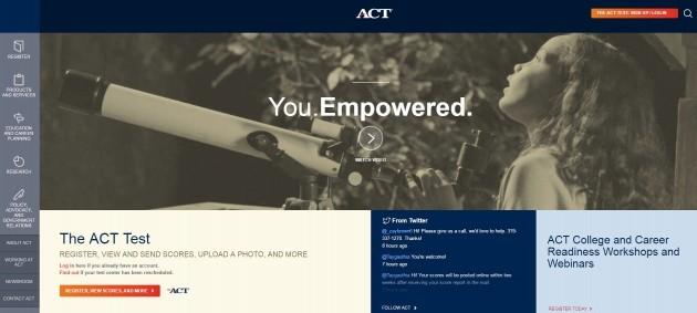 사진=ACT 홈페이지