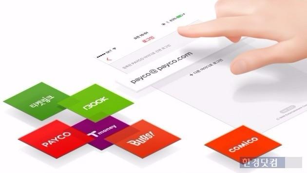 NHN엔터테인먼트의 간편결제 서비스 '페이코'는 티머니 가맹점 10만여개를 포함해 온·오프라인 가맹점 20만여개를 보유하고 있다. / 사진=NHN엔터테인먼트