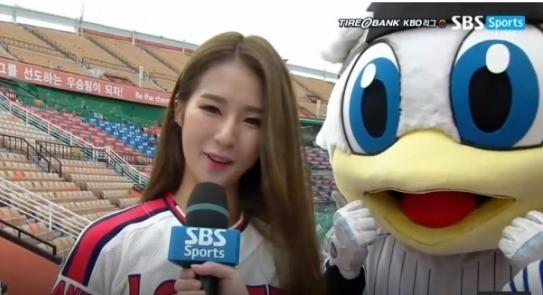 박기량 인터뷰 /sbs스포츠 방송 캡쳐