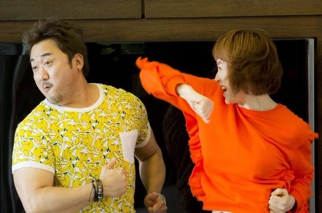 '굿바이싱글' 김혜수 마동석 /영화인 제공