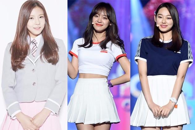 김나영 김세정 강미나 /사진=Mnet, 한경DB