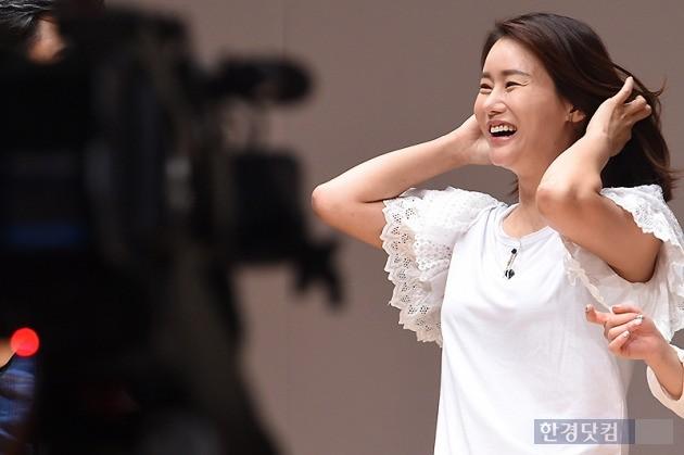 ▶ 박잎선, '되찾은 환한 미소~'