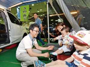 캠핑카 쇼·어린이 시승…황금연휴, 가족과 함께 부산모터쇼서 즐겨볼까