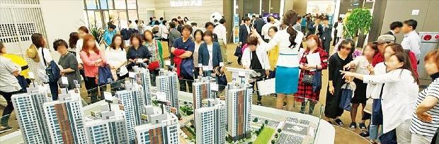 지난달 분양한 인천 영종하늘도시 '스카이시티자이' 아파트가 1주일 만에 70% 이상의 계약률을 기록했다. GS건설 제공
