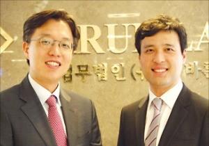 법무법인 바른 김도형(왼쪽)·김상훈 변호사