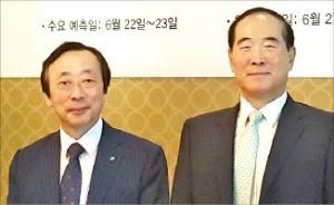 바이오리더스의 성문희 사장(왼쪽)과 김상석 사장.