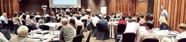 지난 16~18일 말레이시아 쿠알라룸푸르 힐튼호텔에서 버드앤드버드 주최로 열린 포럼에 법무법인 충정을 비롯한 각국 협력 로펌 변호사들이 참석했다. 법무법인 충정 제공