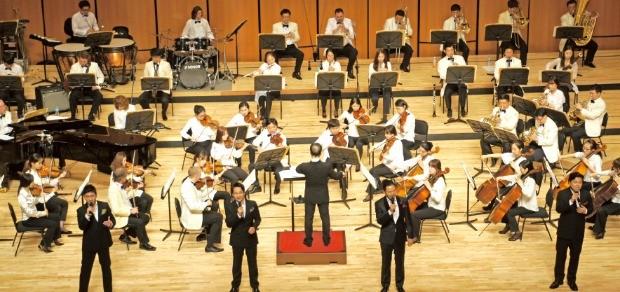 한국전력은 2005년부터 민간 오케스트라와 제휴해 '희망·사랑나눔 콘서트'를 열고 있다. 한국전력 제공