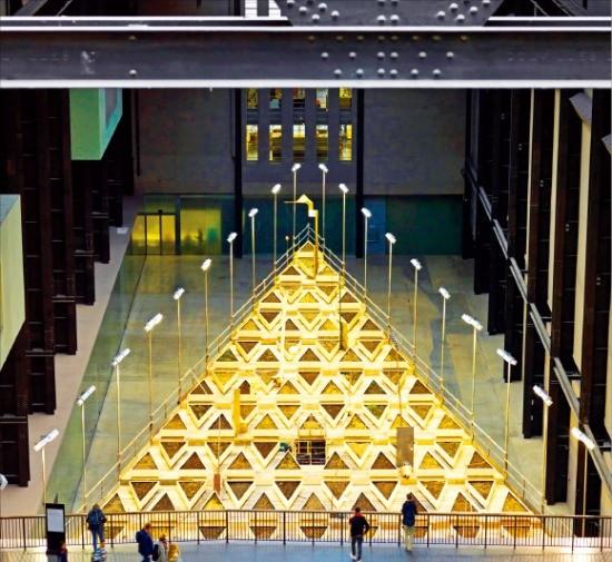현대자동차의 후원을 받고 있는 영국 현대미술관 테이트모던은 작년 10월부터 설치미술작품 '빈터'를 전시하고 있다. 현대차 제공