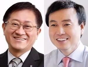 서경배 아모레퍼시픽그룹 회장, 차석용 LG생활건강 부회장(사진=각 사 제공)
