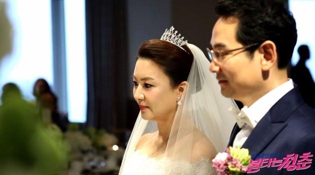김혜선 결혼식 / 사진 = 불타는 청춘 제공