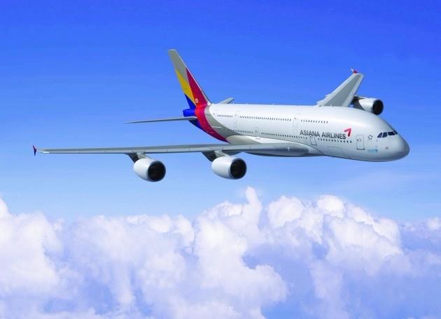 아시아나항공 A380. 사진=아시아나항공 제공
