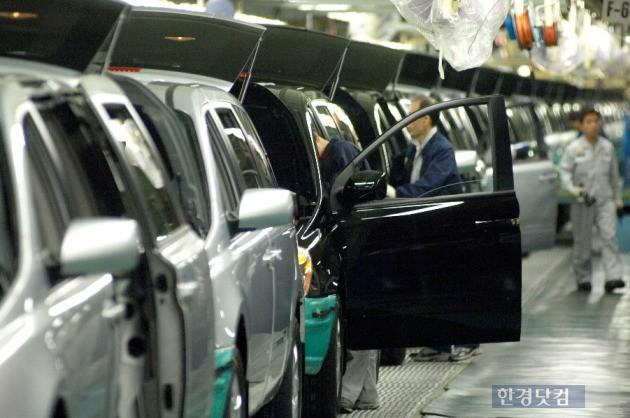 현대자동차 생산공장 조립라인. (사진=현대차)