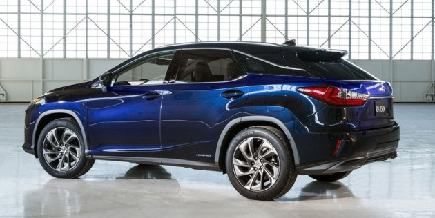 렉서스가 국내 주력으로 판매하고 있는 하이브리드 SUV 'RX450h'.