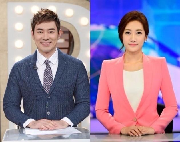조충현-김민정 아나운서 열애 / KBS 제공
