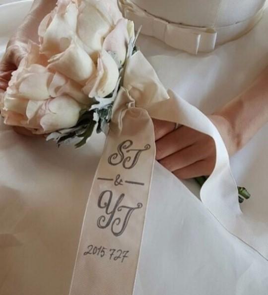 배용준, 박수진 결혼 1주년 기념  / 박수진 인스타그램