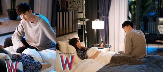 더블유에서 호흡을 맞추는 이종석 한효주 / MBC 'W' 공식 SNS