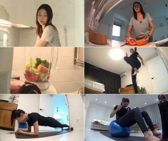 톱모델 한혜진 / MBC '나 혼자 산다' 제공