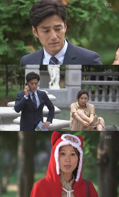 지진희 김희애 /SBS '끝에서 두번째 사랑' 방송화면