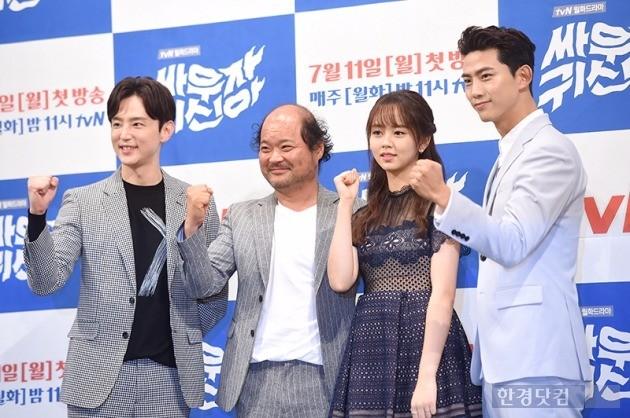 '싸우자 귀신아' 김상호, 권율, 김소현, 옥택연 / 사진 = 최혁 기자