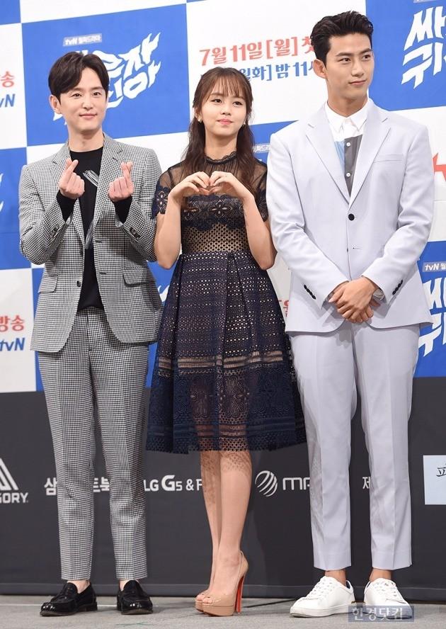 '싸우자 귀신아' 권율, 김소현, 옥택연 / 사진 = 최혁 기자