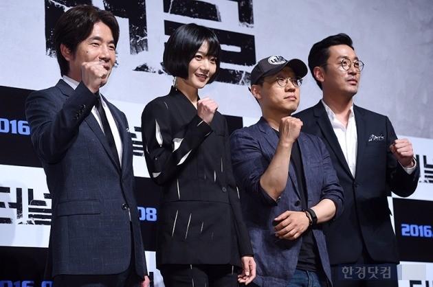 영화 '터널' 오달수 배두나 김성훈 감독 하정우 /사진=최혁 기자