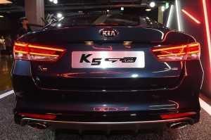 2017 K5 GT-Line, '매력적인 뒤태'