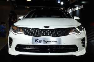 기아자동차 '2017 K5 Signature' 고급스러움 강조해