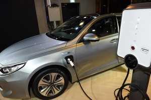 기아자동차 '2017 K5 PHEV' 최대 44km를 전기모터로 주행 가능