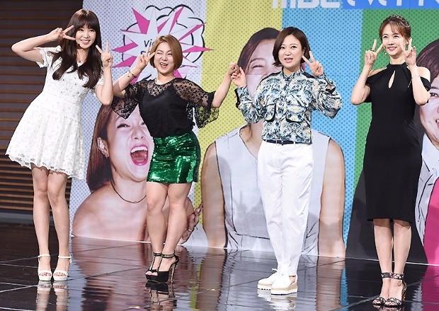 '비디오스타' 차오루 박나래 김숙 박소현 /사진=변성현 기자